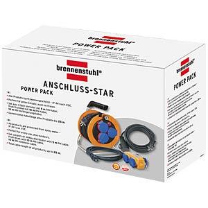 Power pack, Kabeltrommel, Verteiler,Verlängerung BRENNENSTUHL 1070150