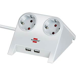 Desktop-Power USB-Charger with 2x USB-2.0 BRENNENSTUHL 1153520222