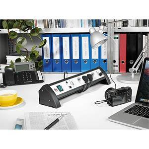 Überspannungsschutz-Steckdosenleiste mit USB BRENNENSTUHL 1156350514
