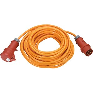 25-m CEE PUR extension, 1.5 mm², 16 A/400 V ALTHOFF 62225