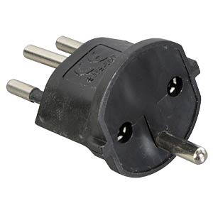 Fixadapter, CH Stecker L+N+PE STEFFEN 14 9563 1