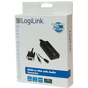 HDMI to VGA with Audio Converter LOGILINK CV0058