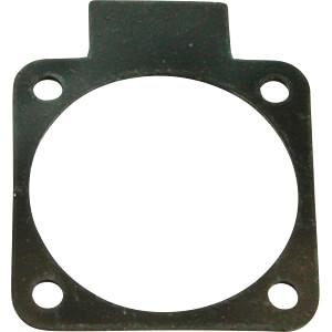 D105-0 - Flansch für Anbausteckdose 50 x 50 mm