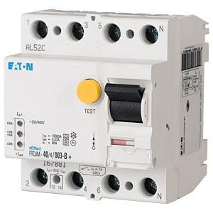Fehlerstromschutz-Schalter, Typ G/B, 40 A, 30 mA, 4 polig EATON FRCDM-40/4/003-G/B