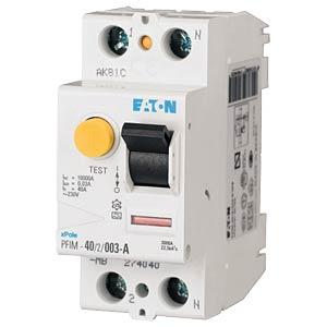 Fehlerstromschutz-Schalter, Typ A, 16 A, 30 mA, 2 polig EATON PFIM-16/2/003-A-MW