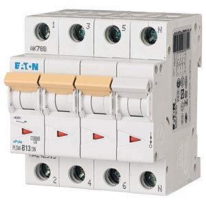 Leitungsschutzschalter, Char. C, 13 A, 3 + N EATON PLSM-C13/3N-MW