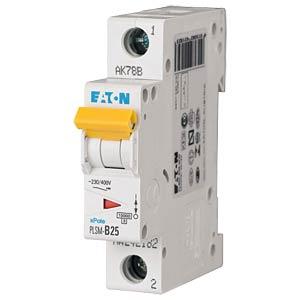 Aardlekschakelaar - 25 A, 1-polig, Char - C EATON PLSM-C25-Q-MW