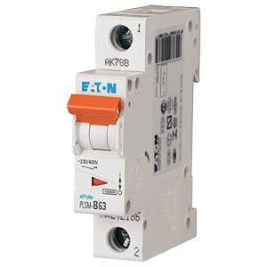 Leitungsschutzschalter, Char. C, 63 A, 1 polig EATON PLSM-C63-Q-MW