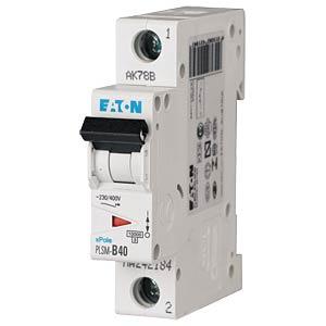 Aardlekschakelaar - 40 A, 1-polig, Char - D EATON PLSM-D40-Q-MW