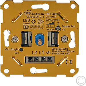 EGB 101 500 - Universal-Dimmer ''One-4-All'' f. LED + Standard