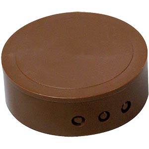 Brown junction cover, ceiling socket KOPP 3418.0600.8