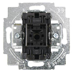 Flush-fitted switch insert, intermediate switch BUSCH-JAEGER 2000/7 US