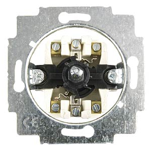 Switch insert for blinds, rotary switch, 2-pin BUSCH-JAEGER 2712 U