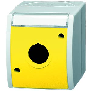 Blank enclosure with yellow lid BUSCH-JAEGER 2533 WN-15-53