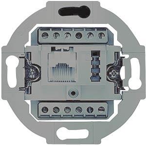 Flush-fitted insert, UAE 8(6)/TAE 6F+N BUSCH-JAEGER 0230-0-0381