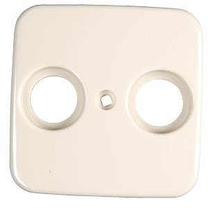 Broadband TV central plate for DURO 2000-SI BUSCH-JAEGER 2531-212
