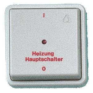 KOPP Unterputz-Heizungsschalter, 10 A/250 V KOPP 6273.0208.6