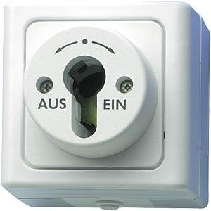 Feuchtraum-Schlüsselschalter KOPP 5617.0201.8