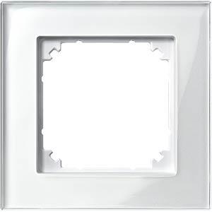 M-PLAN-Echtglasrahmen - 1-fach, brillantweiß MERTEN 489119