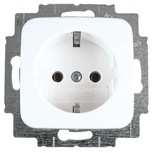 Earthed socket with child safety feature BUSCH-JAEGER 20 EUCKS-214