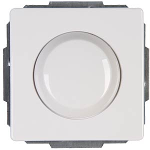 Dimmer WW-RL400VA, VENICE pure white (phase-controlled) KOPP 803129089