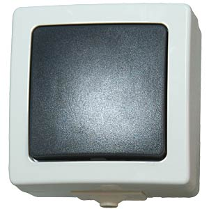 Surface-mounted wet room switch, off/toggle KOPP 5656.5600.1