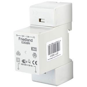 Friedland Klingeltransformator, 12V 1,5A FRIEDLAND 2071.0402.4