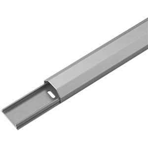Aluminium-Kabelkanal 1,1m, 33 mm breit, alu GOOBAY 90666