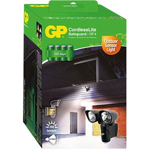 RF Safeguard 4.2 - Batterie LED Aussenleuchte GP-BATTERIES SAFEGUARD4.2