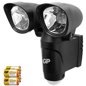 LED-Außenleuchte Safeguard RF4.2, 6 W, 260 lm GP-BATTERIES SAFEGUARD4.2
