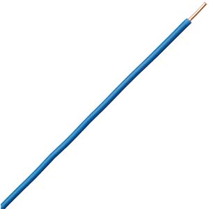50 m jumper/control wire, 1x2.5 mm², blue FREI