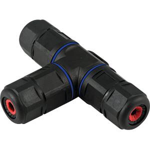 Kabelverbindung T-Stück, IP68, 3-polig HEITRONIC 45609