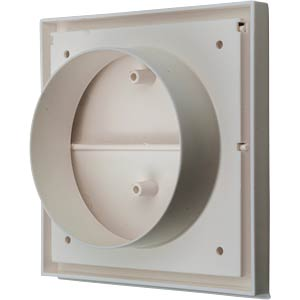 Two-piece cover, white, 100mm HEITRONIC 52303