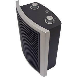 Picolo Basic fan heater, 2000W, bi-colour black/silver EMZ GMBH 104010