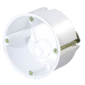 Cavity wall device socket, halogen-free, depth 47 mm F-TRONIC 7350095