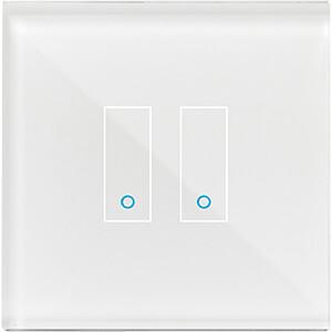 IOTTY Smart Switch, Doppelschalter, weiß IOTTY LSWE22