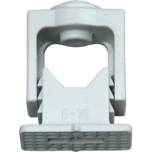 Gripper ISO clips with locking screw 16 mm KOPP 341704089