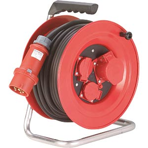Sheet steel cable reel, CEE, 25 m H07RN-F ALTHOFF 11725