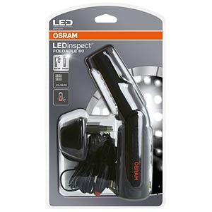 LED-Arbeitsleuchte LEDinspect FOLDABLE 80, Akku, schwarz OSRAM B00ENLEJJK