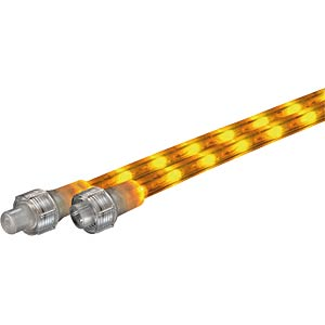 LED rope light extension, 660 cm, yellow GEV 20443