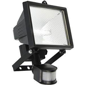 Floodlight, 400 W, with IR detector, EEC C HEITRONIC 36769