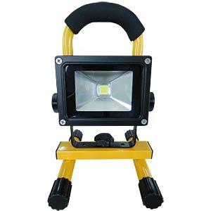 LED-Akku-Flutlichtstrahler, 10 W LED, 700 lm KÖNIG KNLEDFLMB10W