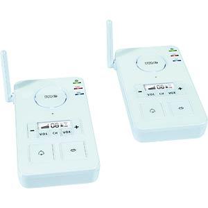Wireless intercom system, FS-2, white M-E FS-2.1