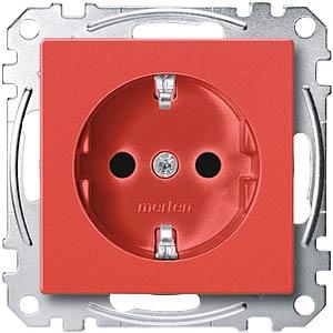 EL SM 23000306 - System M, Steckdose für Sonderstromkreise, rot
