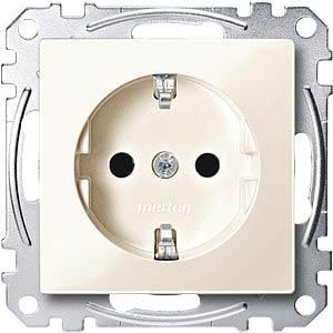 Socket insert — System M, white, glossy MERTEN MEG2300-0344
