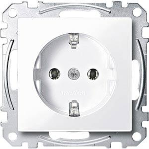 Socket insert — System M, active white, glossy MERTEN MEG2301-0325