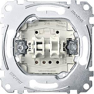 Rollladentaster-Einsatz - 1-pol, 10 A/ 250 V MERTEN MEG3755-0000