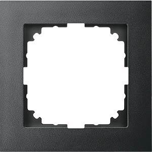 M-PURE frame — 1-gang, anthracite MERTEN MEG4010-3614