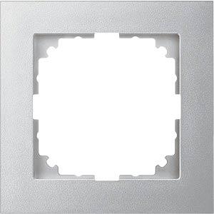 M-PURE, Rahmen, 1-fach, aluminium, edelmatt MERTEN MEG4010-3660