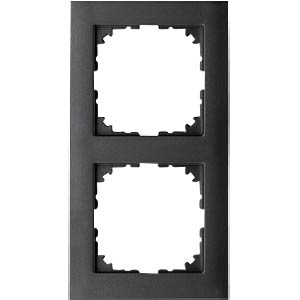 M-PURE-Rahmen - 2-fach, anthrazit MERTEN MEG4020-3614